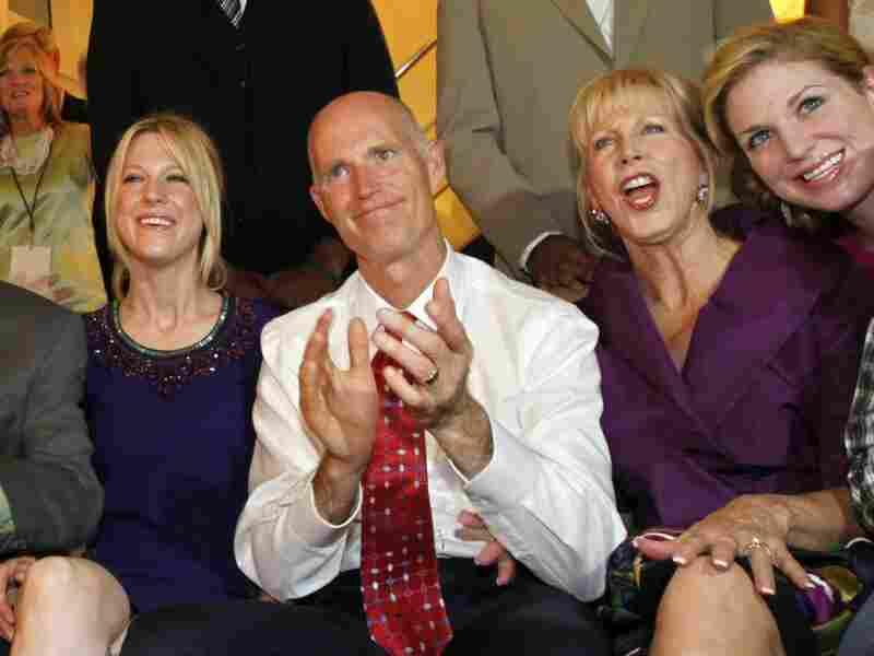Florida Republican gubernatorial candidate Rick Scott.