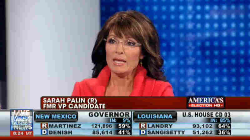 Sarah Palin on Fox News' election coverage