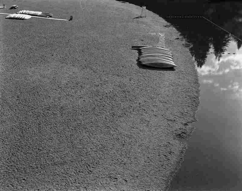 Untitled from the series Canoes, Russian River, CA