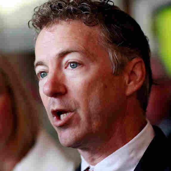 Rand Paul Casts His Vote On Election Day
