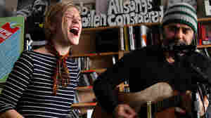 Black Dub's Trixie Whitley and Daniel Lanois perform a Tiny Desk Concert at the NPR Music offices.