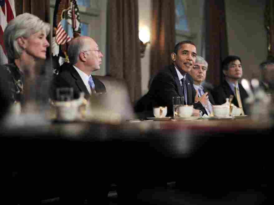 President Obama after Cabinet meeting