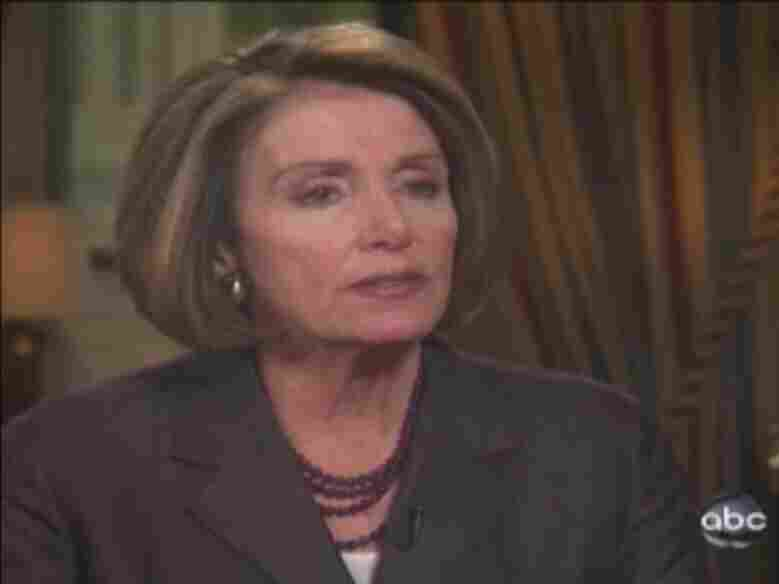 Nancy Pelosi on ABC News