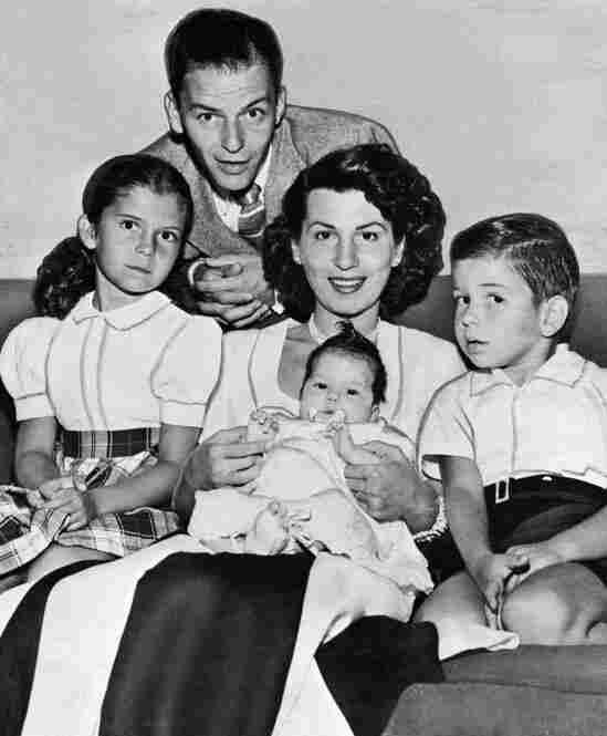 The Sinatras at home, circa 1948 Bettmann/Corbis