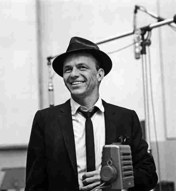 Frank recording at Capitol Studio C, West Hollywood, April 1953 Sid Avery/MPTV