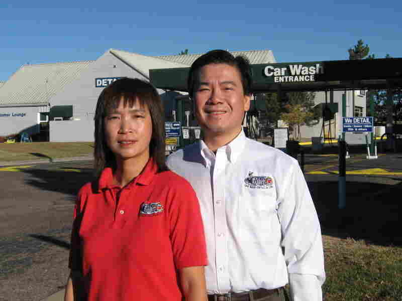 Shirley and Kevin Leung own the Magic Rabbit Car Wash & Detail in Colorado.