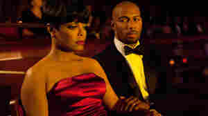 Janet Jackson and Omari Hardwick in 'For Colored Girls.'