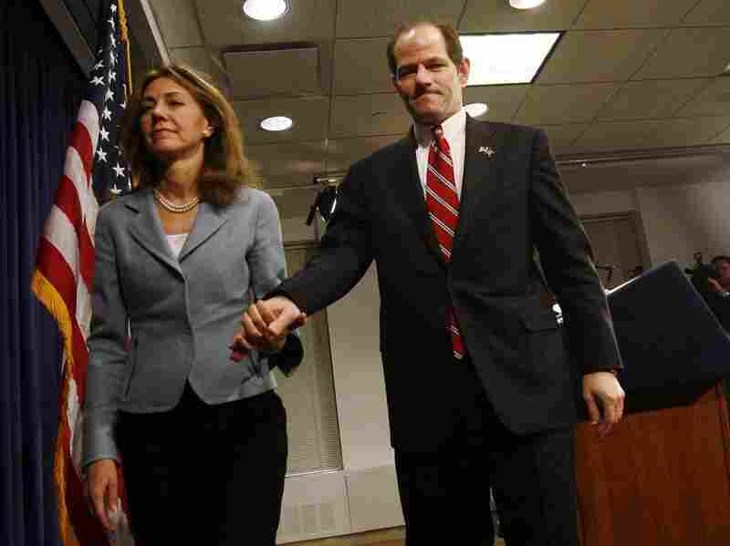 Eliot Spitzer and wife Silda Wall. Shannon Stapleton, Courtesy Magnolia Pictures