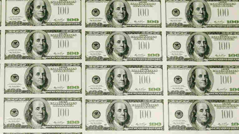 Paper Currency Is Designed And Printed At Bureau of Engraving and Printing
