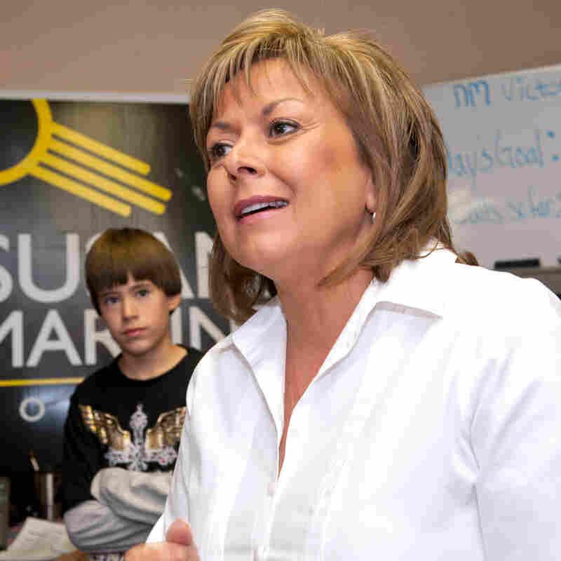 Republican Susana Martinez, governor-election of New Mexico.