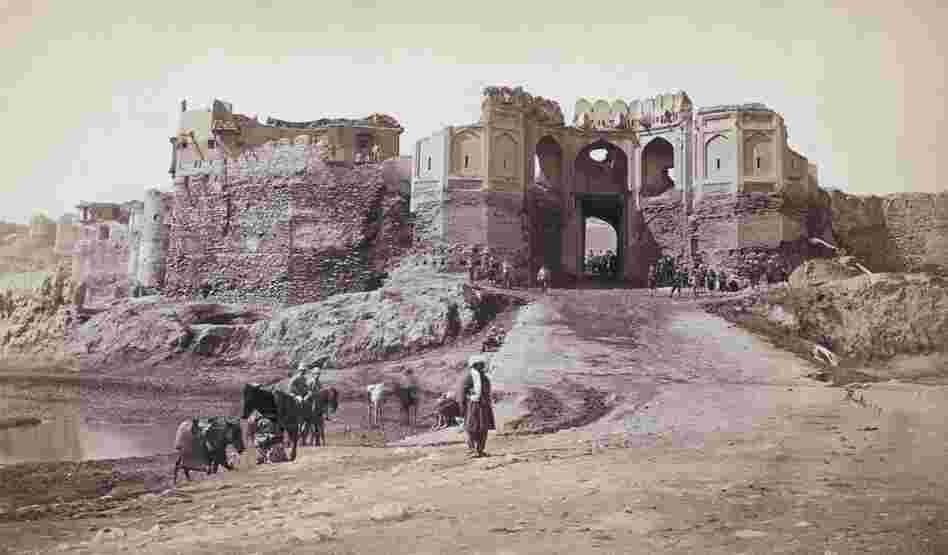 British troops in occupied Kabul in 1879 during the period of British Imperial rule in India.