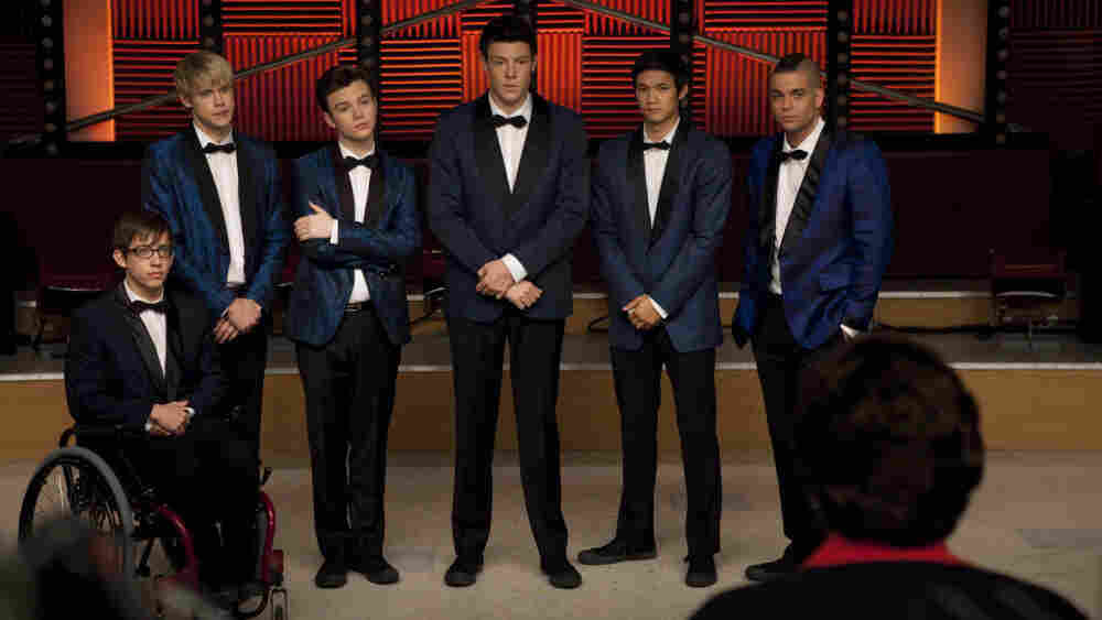 The boys of Glee