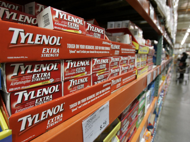 Tylenol drugs on display at Costco in Mountain View, Calif. To get reimbursed for these over-the-counter drugs by flexible spending accounts, consumers will need a prescription.
