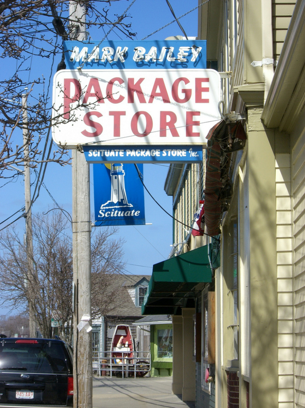 A package store in Scituate, Mass.