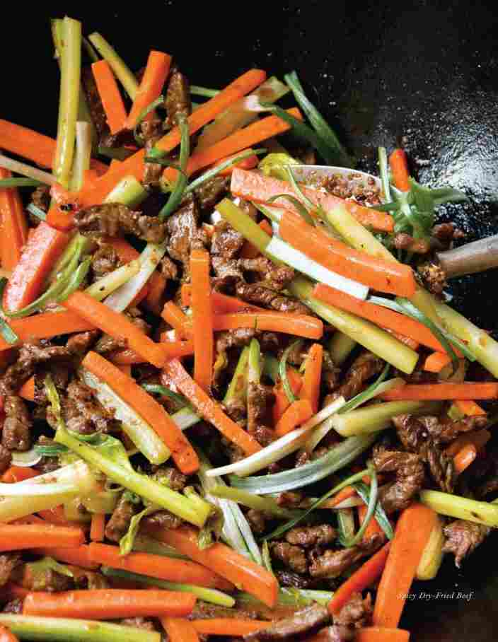 Spicy Dried-Fried Beef