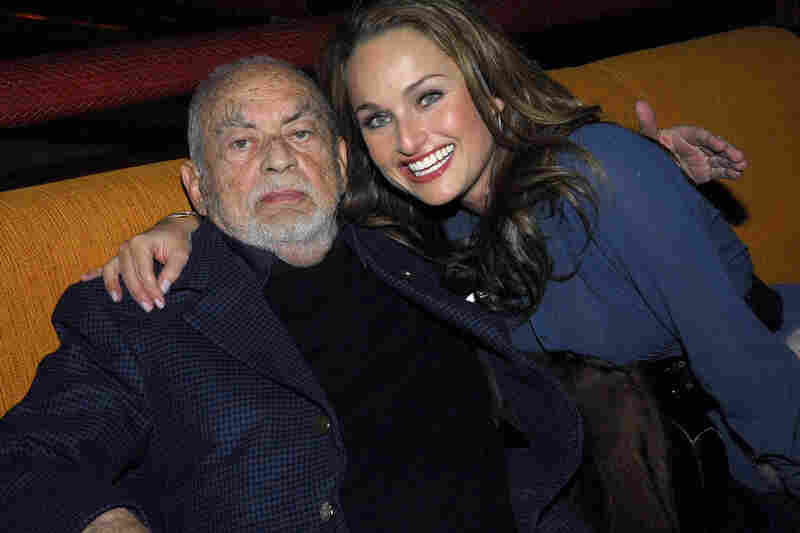De Laurentiis and his granddaughter, chef Giada De Laurentiis, pose at the after party for Hannibal Rising at Providence on Jan. 31, 2007, in New York City.