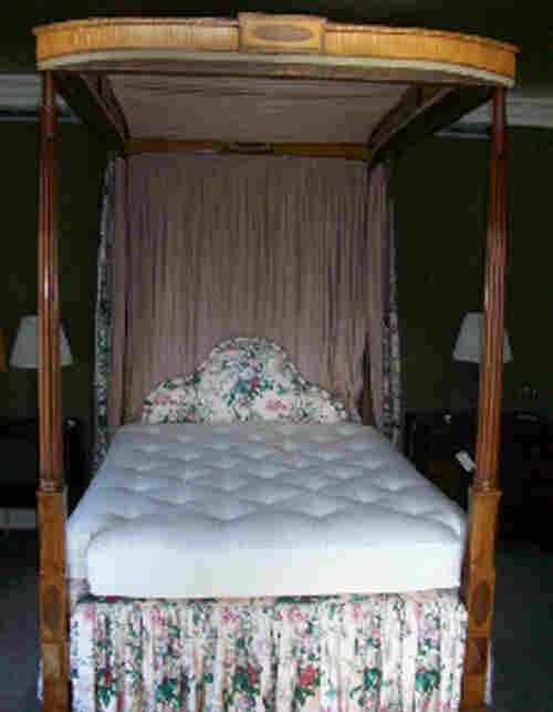 Bernie Madoff's Mahagony Bed