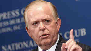 June 26, 2007 file photo of Lou Dobbs.