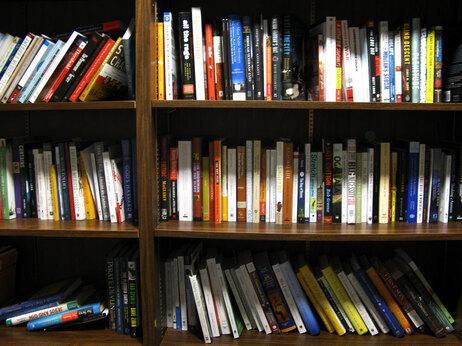 An NPR bookshelf