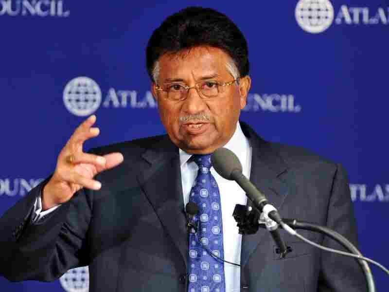 Former Pakistani President Pervez Musharraf spoke about India.