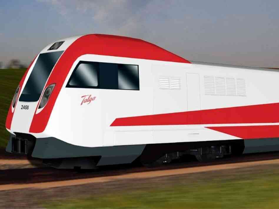 Talgo Series 8 rendering