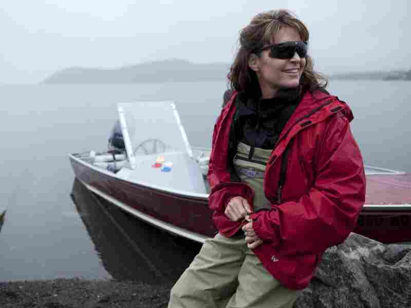 Sarah Palin gets ready to head up the river
