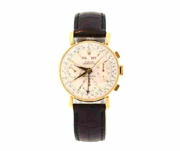 Gold Rolex watch