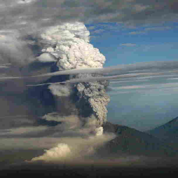 With Lava, Volcano Spews Chemicals To Cool Earth