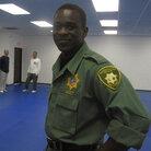 """Hitman"" Anthony Brown in uniform."