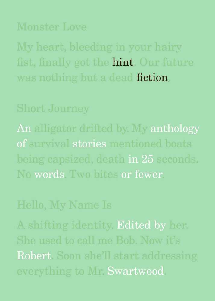'Hint Fiction'