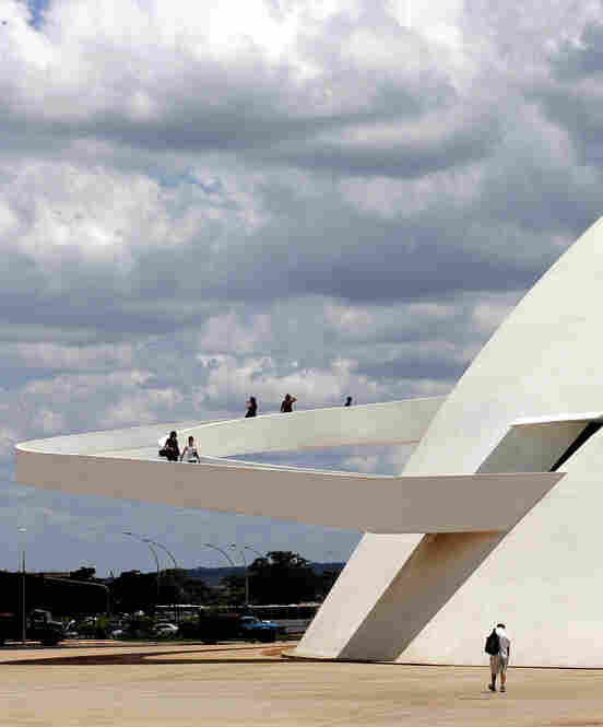 The ramp of Brasilia's National Museum was inaugurated in 2007.