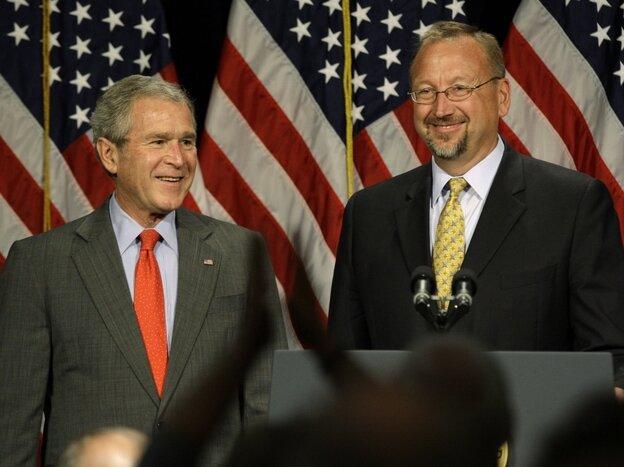 President Bush, Saul Anuzis
