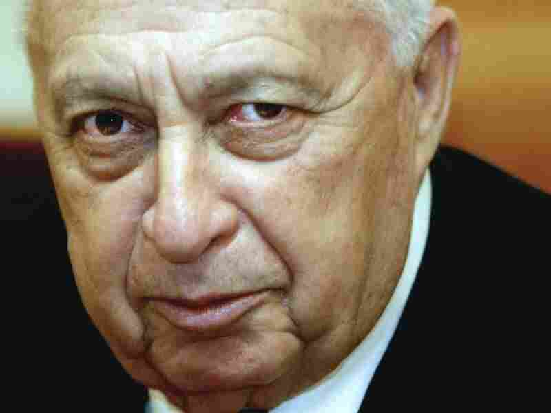 Former Israeli Prime Minister Ariel Sharon in December, 2003.