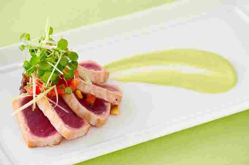 Ahi Tuna, Wolfgang Puck Fine Dinning Group