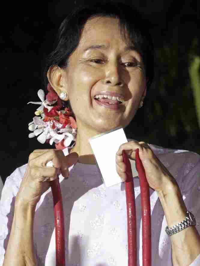 Aung San Suu Kyi. Khin Maung Win/AP