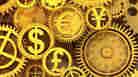 Golden symbols of currency. iStockphoto.com