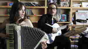 Sean Lennon performs as The Ghost of the Saber Tooth Tiger in a Tiny Desk Concert at NPR.