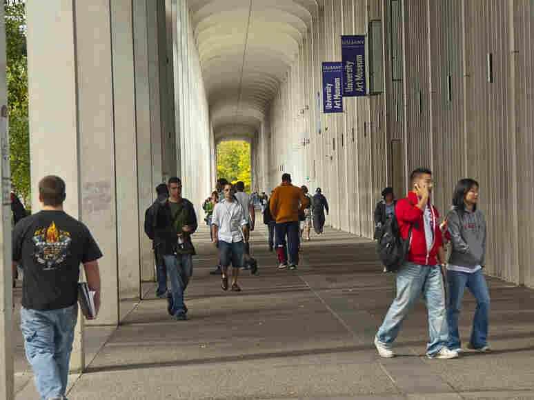 Students at SUNY Albany