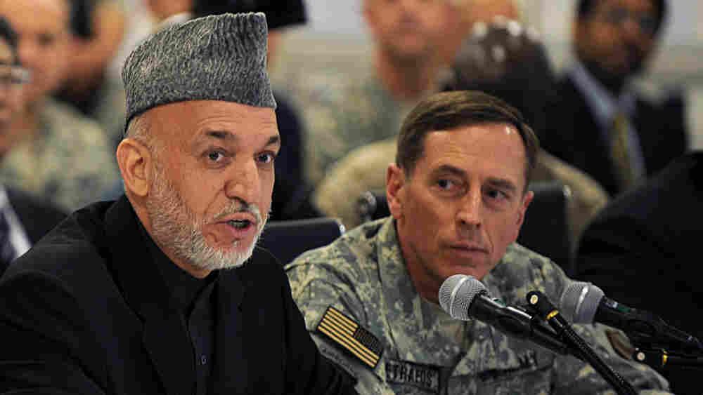 Richard Holbrooke Hamid Karzai David Petraeus
