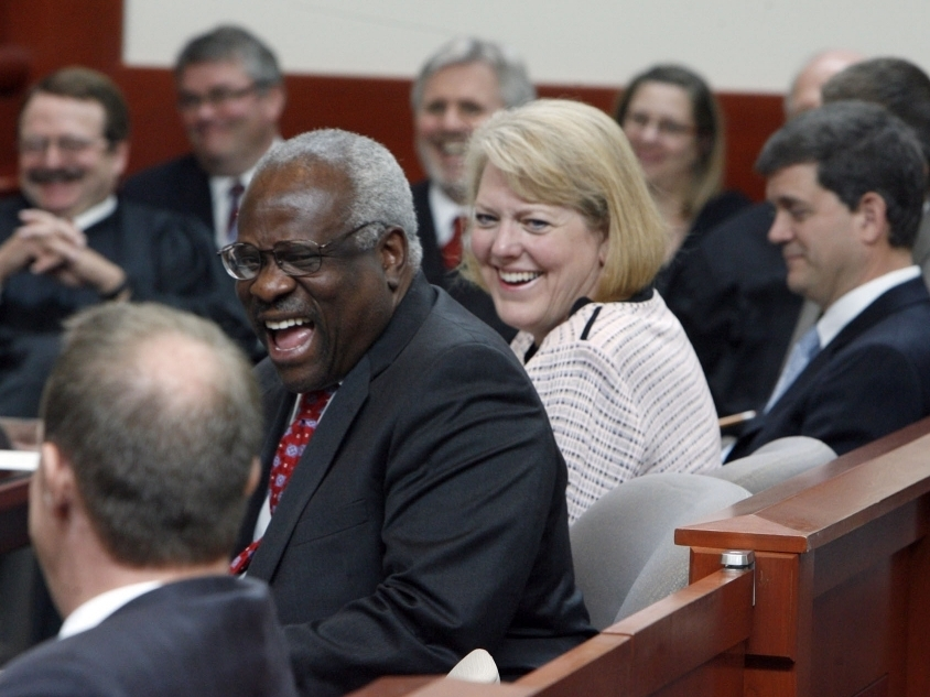 Clarence Thomas' Wife Exits Conservative Group's Top Post ...