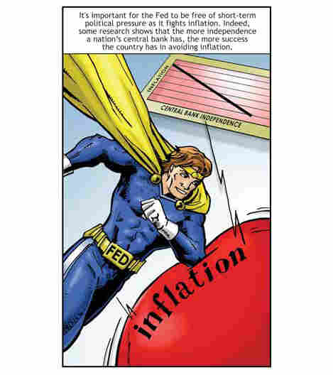 Federal Reserve Comic