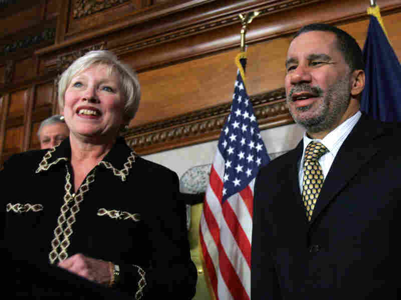 Nancy Zimpher and David Paterson