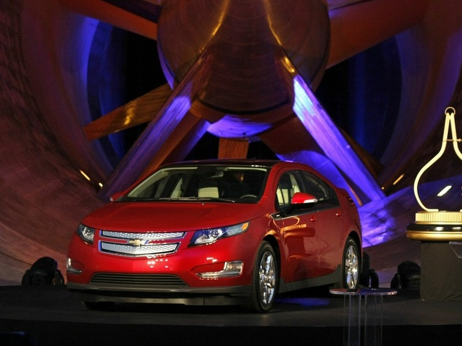 Motor Trend Magazine Editor In Chief Angus Mackenzie Names The Chevrolet Volt Electric Vehicle