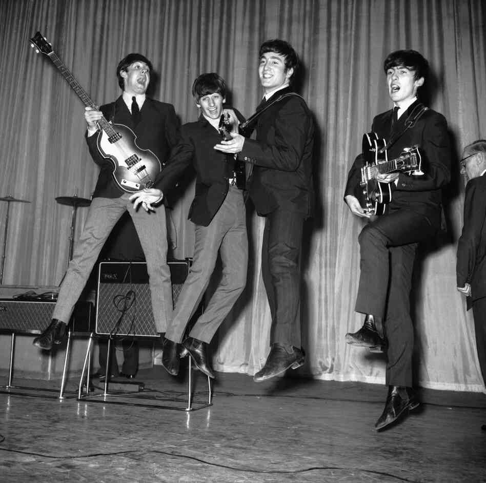 Leaping Beatles