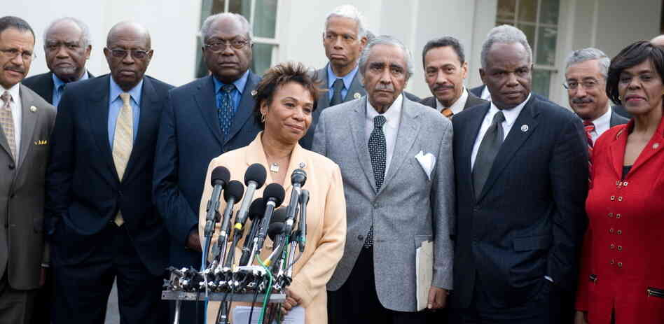 Members of the Congressional Black Caucus