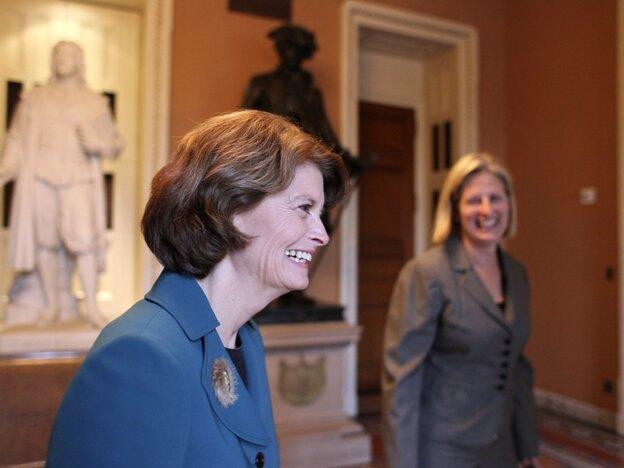 Murkowski on Capitol Hill