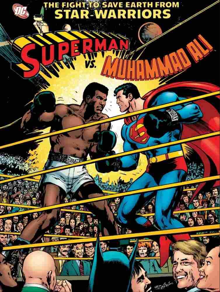 Superman vs. Muhammad Ali Cover