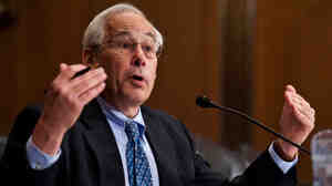 Dr. Donald Berwick testifies before the Senate Finance Committee.