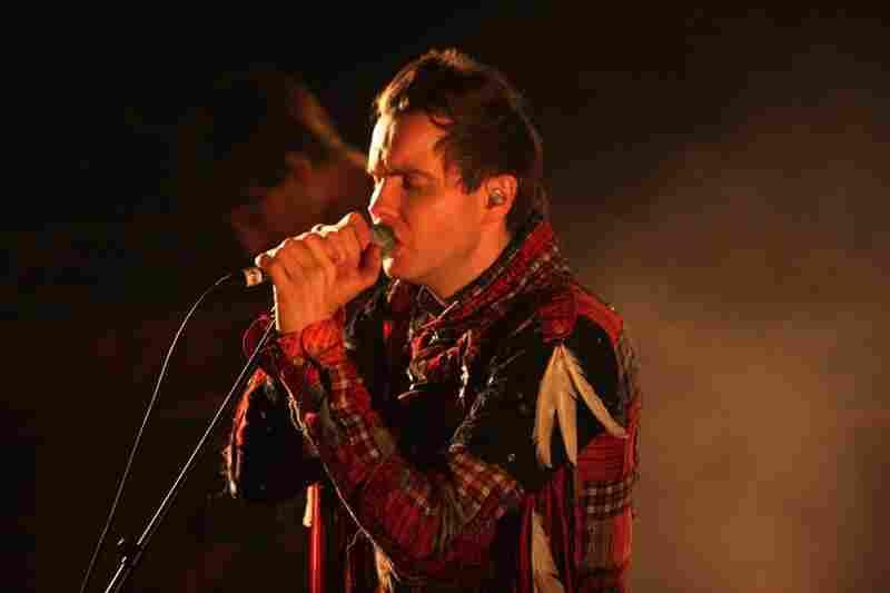 Jonsi, performing live at the 9:30 Club in Washington, D.C. on Nov. 9, 2010.