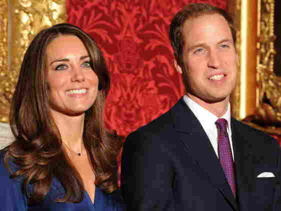 Prince William and William and Kate Middleton posed for photos at St. James' Palace.